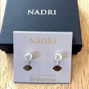 New Nadri Clip Earrings W9